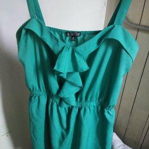BeBop Juniors Teal Mini/Midi Dress Medium